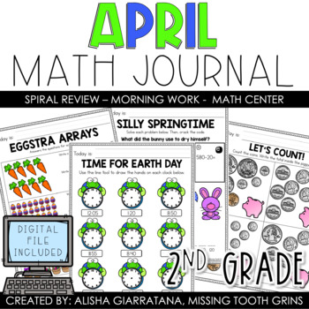 Math Journal April (2nd Grade)