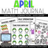 Math Journal April (2nd Grade)