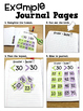 First Grade Math Journal Volume 8