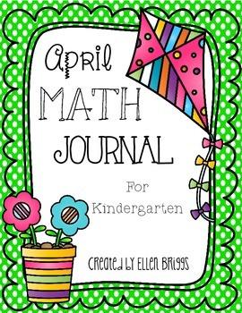 April Math Journal {Kindergarten}