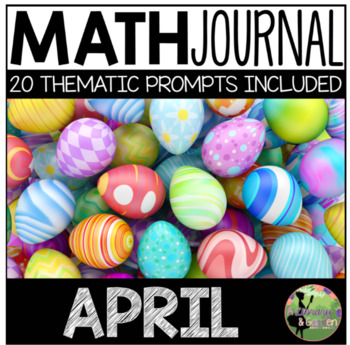 April Math Journal (Kindergarten - Common Core)