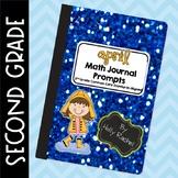 April Math Journal Prompts Second Grade