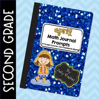 April Math Journal Prompts Second Grade