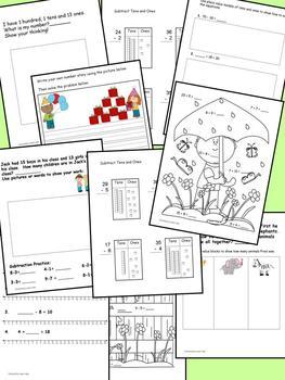April Math Journal to fit CCSS Measurement/Base Ten/Algebraic Thinking/Geometry