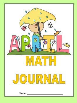 April Math Journal to fit CCSS Measurement/Base Ten/Algebr
