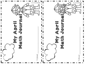 April Math Journals {2nd Grade Common Core Aligned}