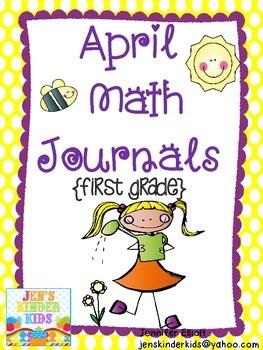 April Math Journals {First Grade}