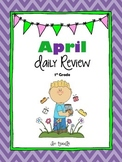 April Math & Literacy Daily Review CCSS Aligned