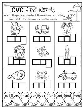 April Math & Literacy No-Prep {Kindergarten}