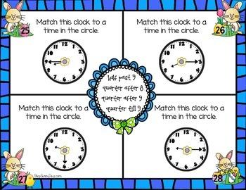 April Math Mats {second grade}