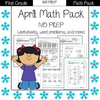 First Grade Math Pack {April}