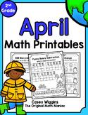 April Math Printables - 2nd Grade