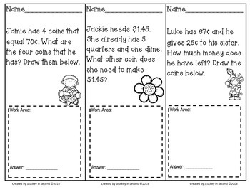 April Math Problem Solving Tasks