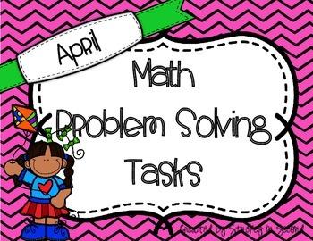 April Math Problem Solving Tasks