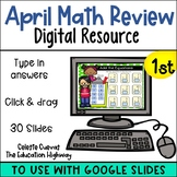 April Math Review for Google Slides