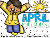 April Math Stations - Third Grade