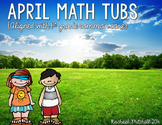 April Math Tubs: Aligned with 1st Grade Common Core
