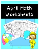 April Math Worksheets