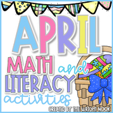 Math and Literacy Activities Bundle for April