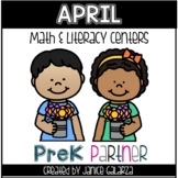 April: Math and Literacy Centers