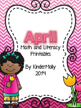 April Math and Literacy Printables