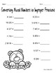 April Math and Literacy Printables for Upper Elementary