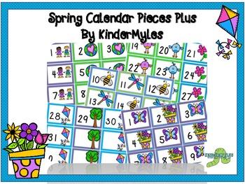 April & May Calendar Pieces Plus
