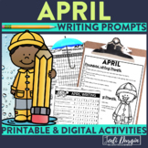 April Mega-Writing Packet {Task Card Prompts, Posters, & W
