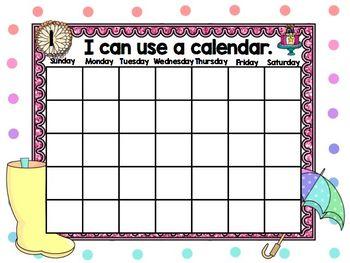 April Mimio Calendar