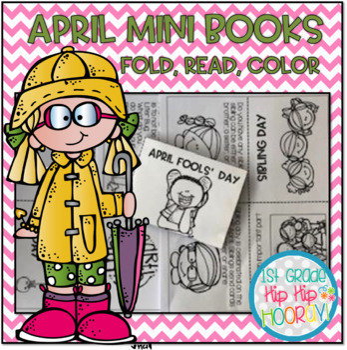 April Mini Books...Just Fold and Read!