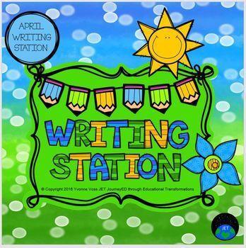 April Mini Writing Station