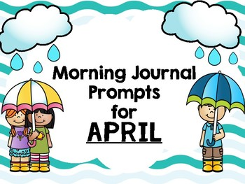 April Monthly Writing Prompts