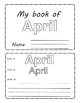 April . Months of the Year. Flipbook.