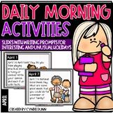 April Morning Activities