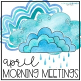 Morning Meeting Activities for April