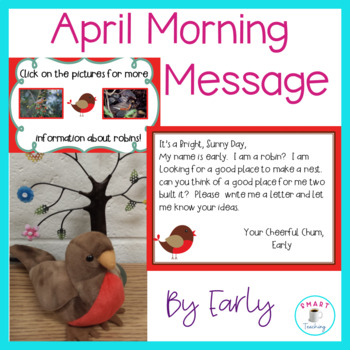 April Morning Message - Works for Traditional and Digital