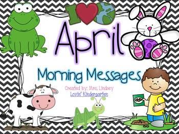 April  Morning Messages Bundle