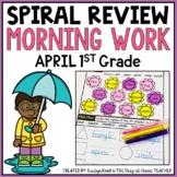 April Morning Work 1st Grade