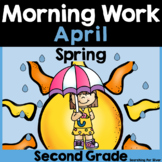April Morning Work {2nd Grade}