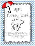 April Morning Work - CC Math Skills