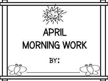 April Morning Work - Differentiated