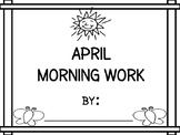 April Morning Work - Differentiated - 2017