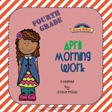 April Morning Work: Fourth Grade