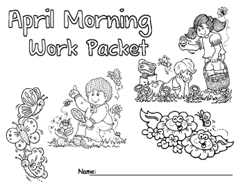 April Morning Work Packet