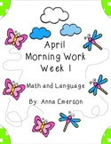 April Morning Work Week 1