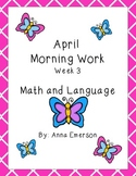 April Morning Work Week 3