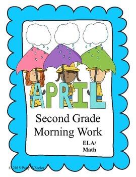 April Morning Work for Second Grade