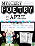 April Mystery Poetry Set