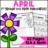 April NO PREP First Grade