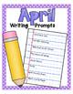 April NO PREP Journal Prompts